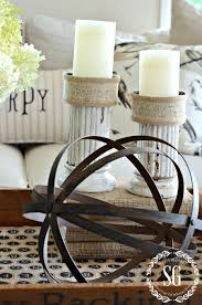 How To Style A Coffee Table How To Style A Transitional Coffee Table Vignette Stonegable