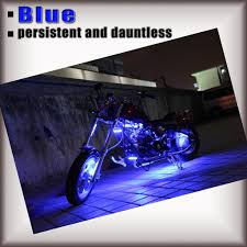 Motorcycle Led Strip Lights by 14pc Million Color Motorcycle Neon Light Kit Wireless Remote