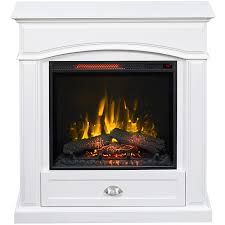 White Electric Fireplace With Bookcase by Shop Electric Fireplaces At Lowes Com
