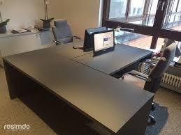 Schreibtisch Computer Büro Schreibtisch Folieren Grau Matt Resimdo