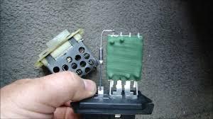 2002 jeep grand blower motor resistor blower motor stuck on high