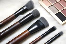 the body shop cruelty free u0026 vegan brushes review