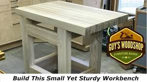 Second Hand Work Bench How To Build This Small Sturdy Hand Tool Workbench Woodworking