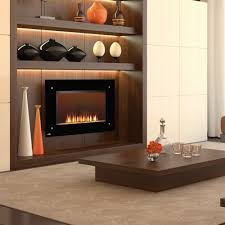 Built In Electric Fireplace Napoleon Azureâ U201e 42 Width Wall Mount Electric Fireplace