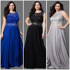 cheap plus size prom dresses lace 2018special occasions evening