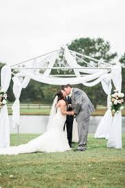 an elegant blush backyard wedding every last detail