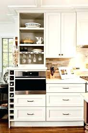 built in wine racks for kitchen cabinets u2013 petersonfs me