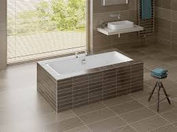 tiled baths rectangular bath serenity built in bath