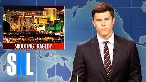 weekend update on the las vegas shooting snl youtube snl