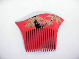 japanese hair ornaments japanese hair ornament side comb from