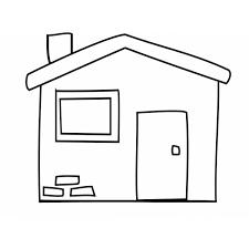 casa disegno disegno di la casetta da colorare per bambini