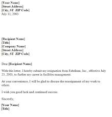 temporary resignation letter template