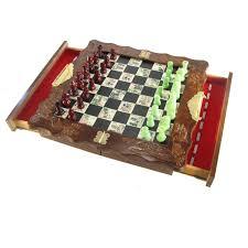 ancient chess set small folding oriental chess set
