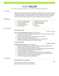 sample resume of an accountant accounting cover letter for
