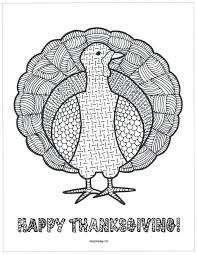 turkey color pages preschool page coloring math printable free