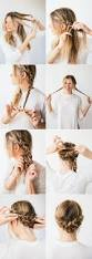 best 25 easy braided updo ideas only on pinterest easy updo