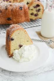 blueberry sour cream pound cake recipe julie u0027s eats u0026 treats