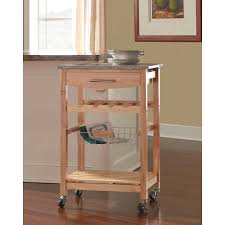 shop kitchen islands carts at lowes com pleasing island cart