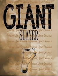 giant slayer samson digital art birthday gift or room decor