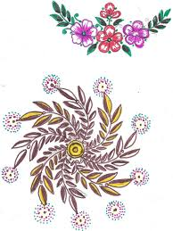 Art N Craft Embroidery - Table cloth design