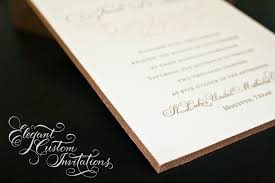 Wedding Invitations Houston Letterpress Invitations Isabella Invitations