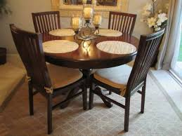 almost new dining room set pier 1 ronan extension table u0026 4