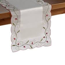 Bed Bath And Beyond Christmas Tablecloths Buy Holiday Table Linens From Bed Bath U0026 Beyond