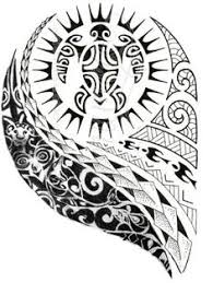 polynesian patterns and tattoos and arts tattoos a turtle and