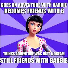 Meme Movies - barbie movies images raquelle meme wallpaper and background photos