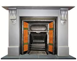 antique victorian slate mantel fireplace surround