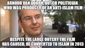 Anti Islam Meme - arnoud van doorn imgflip