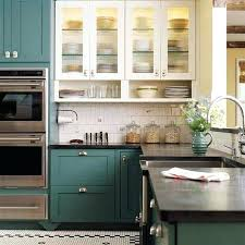 green kitchen paint ideas painted green kitchen cabinets charlieshandles com