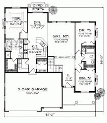 Bungalo House Plans 3 Bedroom Bungalow House Designs Modern Bungalow Floor Plan 3d