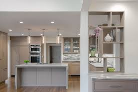 clear glass pendant lights for kitchen island clear glass pendant lights complement cool tones in modern kitchen