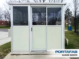 security booth guard booths portafab portafab prefab booths and shelters photo gallery