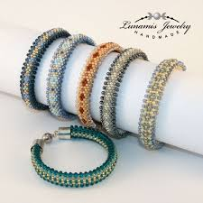 bead crochet rope bracelet images 373 best beading bead crochet images bead crochet jpg