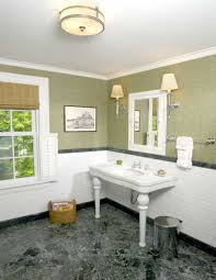 Contemporary Bathroom Suites - bathroom alluring bathroom design ideas showing white half tile