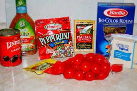 Pasta Salad Recipes With Italian Dressing Jolts U0026 Jollies Easy Party Pasta Salad