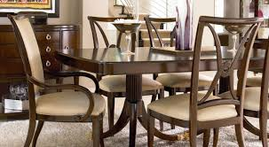 Length Of 8 Person Dining Table by Wood Dining Room Furniture Sets Thomasville Furniture