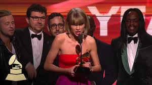 taylor swift album of the year 58th grammys youtube