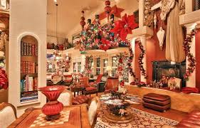 Christmas Decoration For A Living Room by