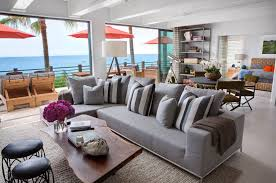 seaside home interiors malibu house with colorful coastal interior decor