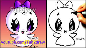 cute halloween skeleton easy things to draw how to draw halloween cartoons super cute