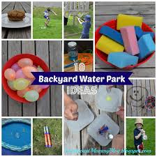 diy backyard water games home outdoor decoration