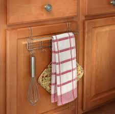 awesome 25 kitchen towel racks for cabinets design decoration of