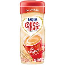 nestle coffeemate original powder coffee creamer 22 oz canister