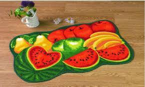 inspiring vegetable kitchen rugs rectangular vegetables motif