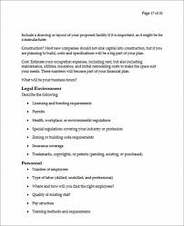 facility rental proposal template lease proposal template