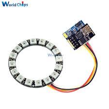 christmas light control module esp8266 esp01 esp 01 rgb led controller adpater wifi module diy for
