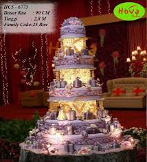 wedding cake jakarta 5 tiers wedding cake pesan toko dan vendor kue hova cake jakarta